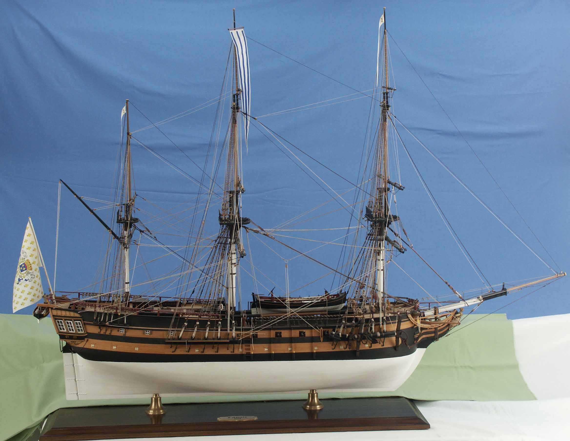 How to build a model slave ship 2010