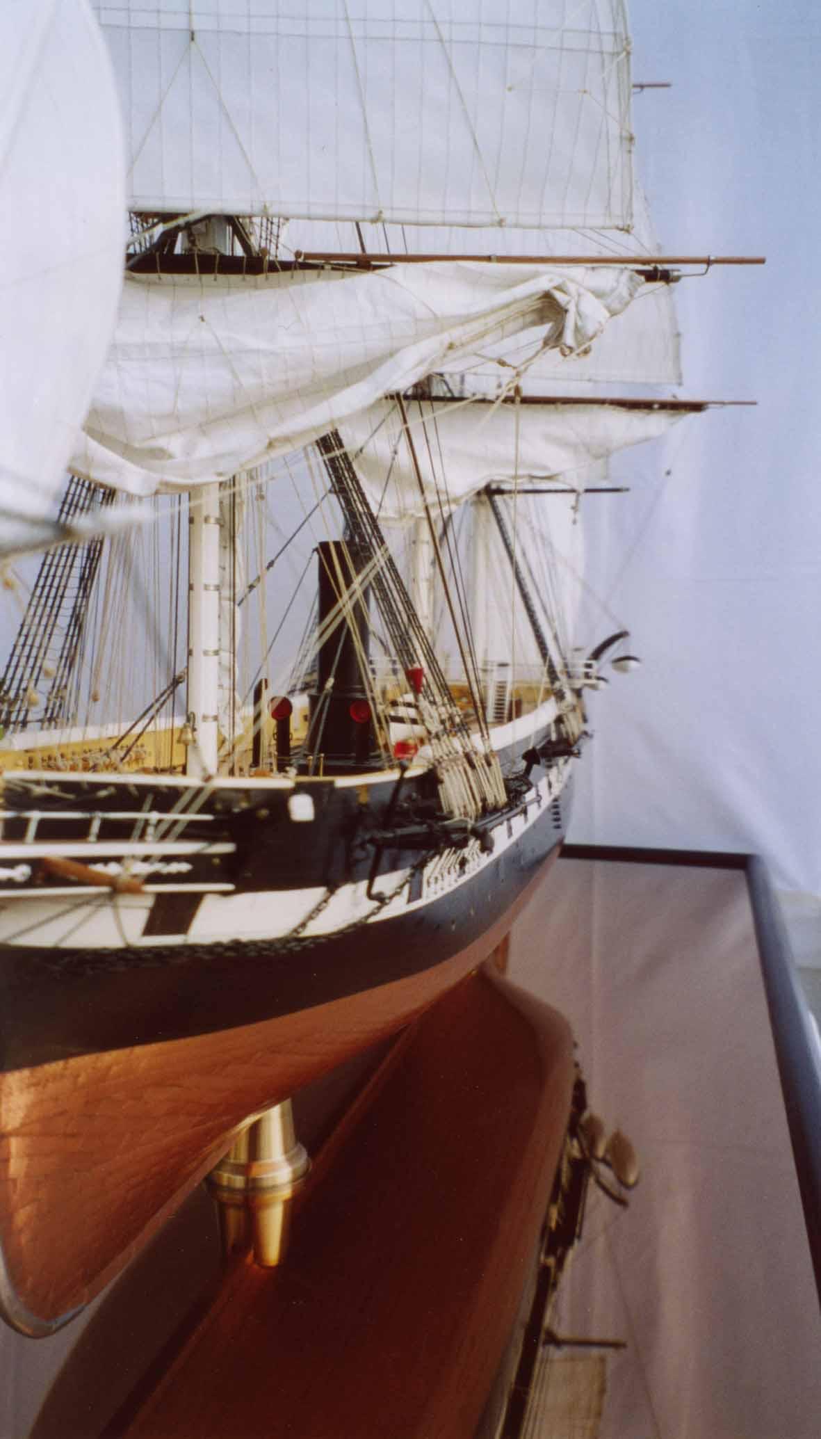 ship model corvette elisabeth