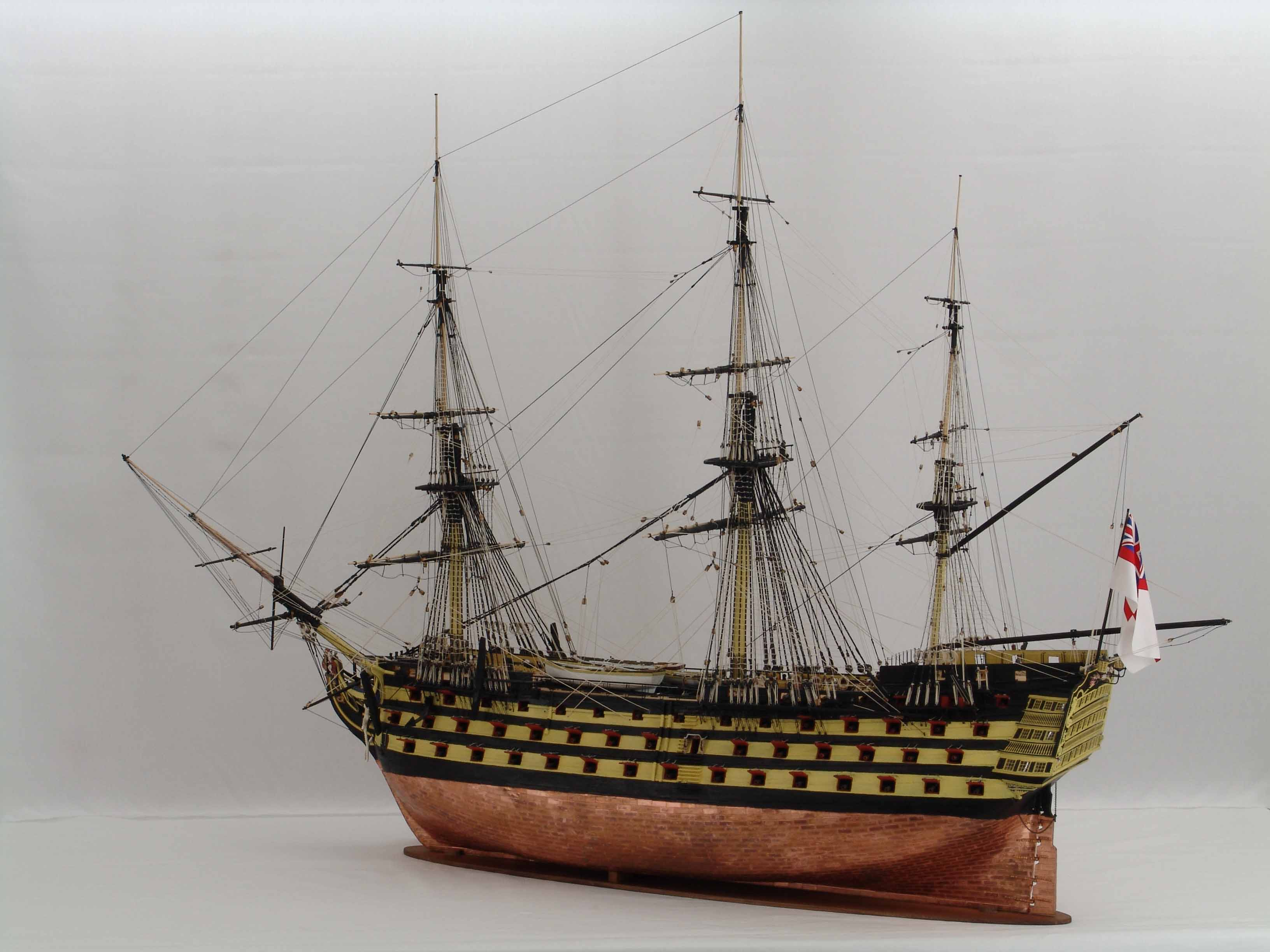 ship model 1 72 scale of hms victory nelson s flagship