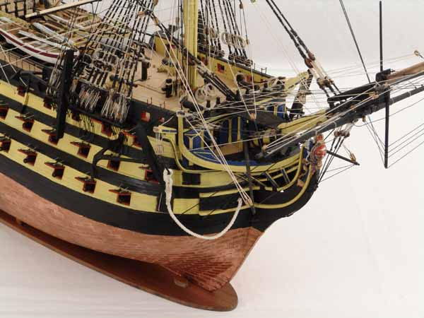 Model ship VICTORY