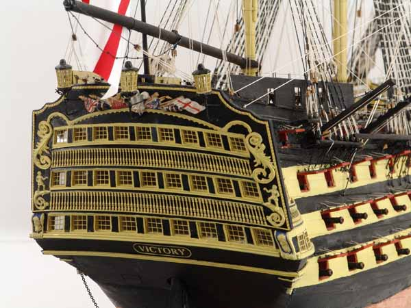 VICTORY model ship