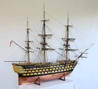 Ship model HMS Victory of 1765