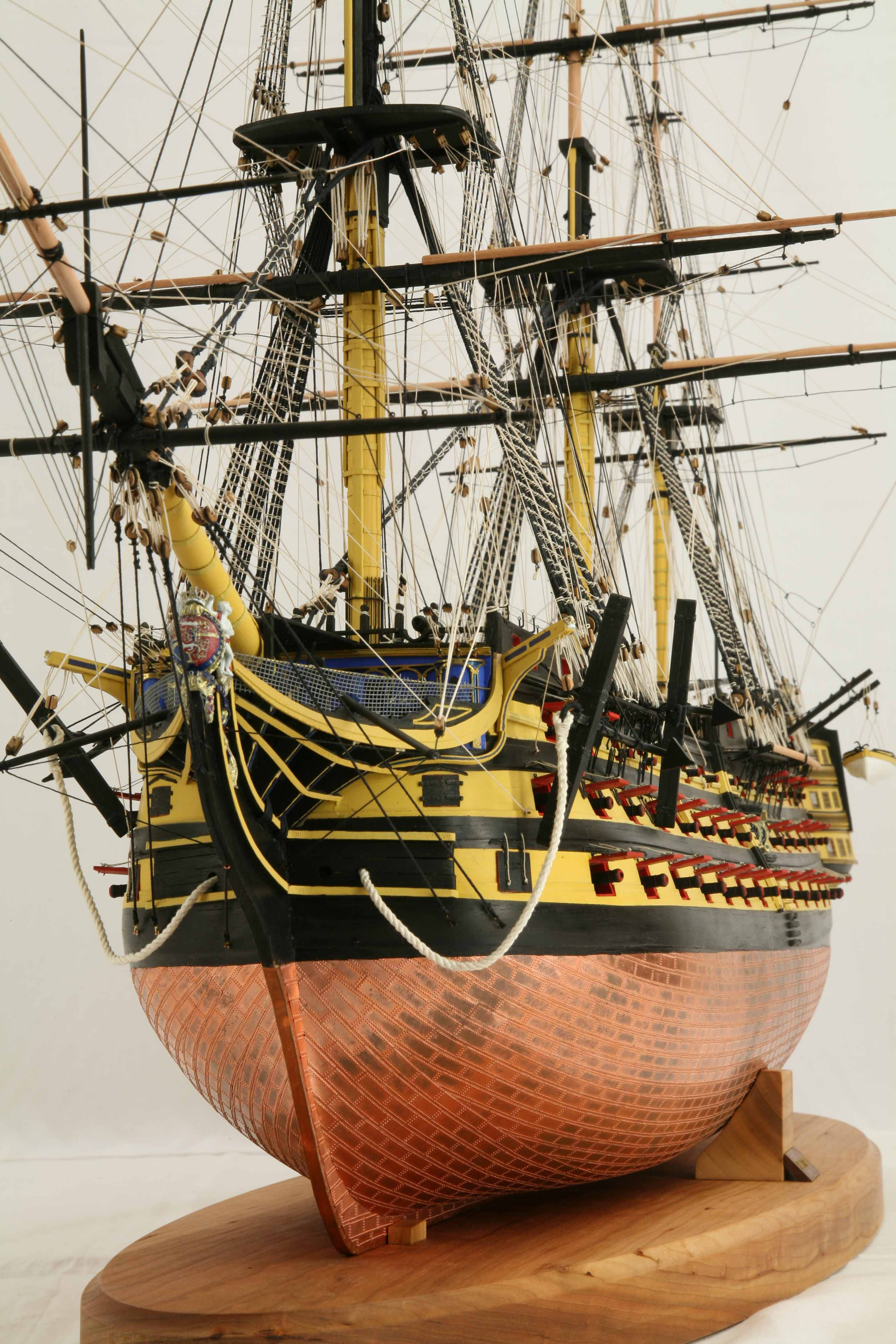 up photos of ship model hms victory 1 72 scale
