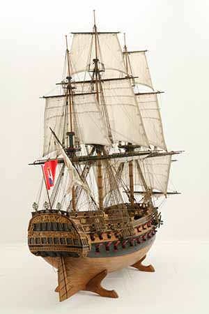 Ship model Wappen von Hamburg of 1720