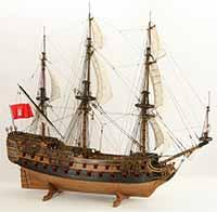 Schiffsmodell Wappen von Hamburg III