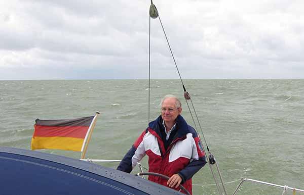 sailing yacht Ijsselmeer